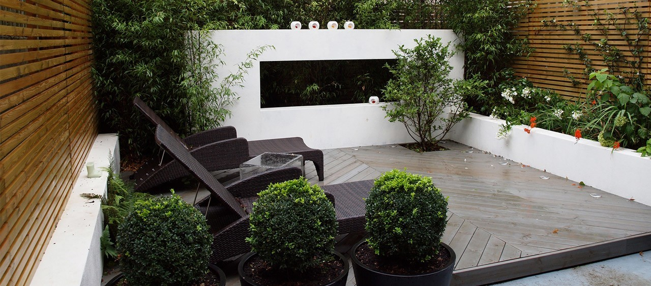 bespoke garden design in north london john gilbert - Garden Design Uk