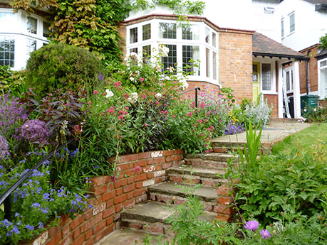 Making the most of a front garden