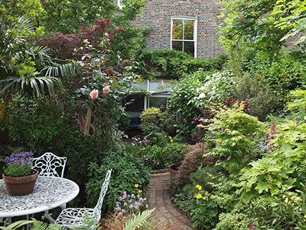 The well-planted garden